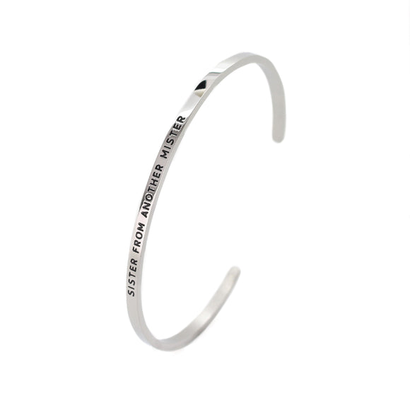Sister From Another Mister Bangle - DayDream Jewellery