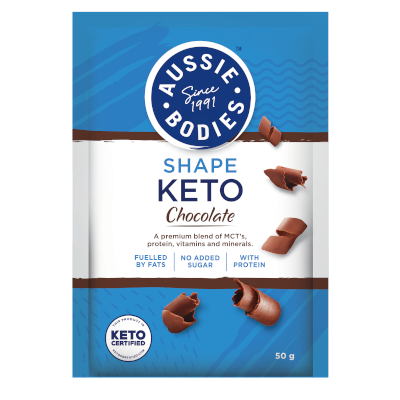 Aussie Bodies Keto Chocolate Powder 50g