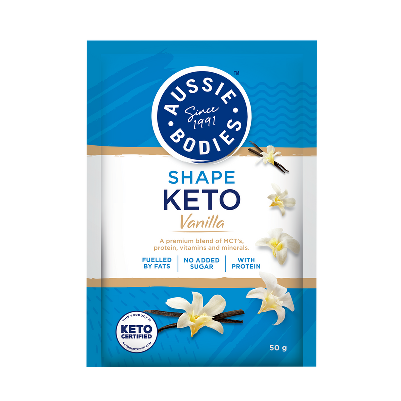 Aussie Bodies Keto Vanilla Powder 50g