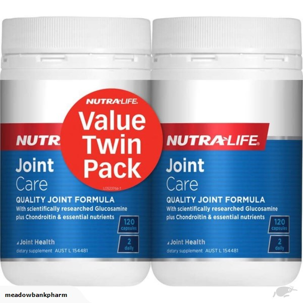 Nutra Life Joint Care 120 caps Twin Pack