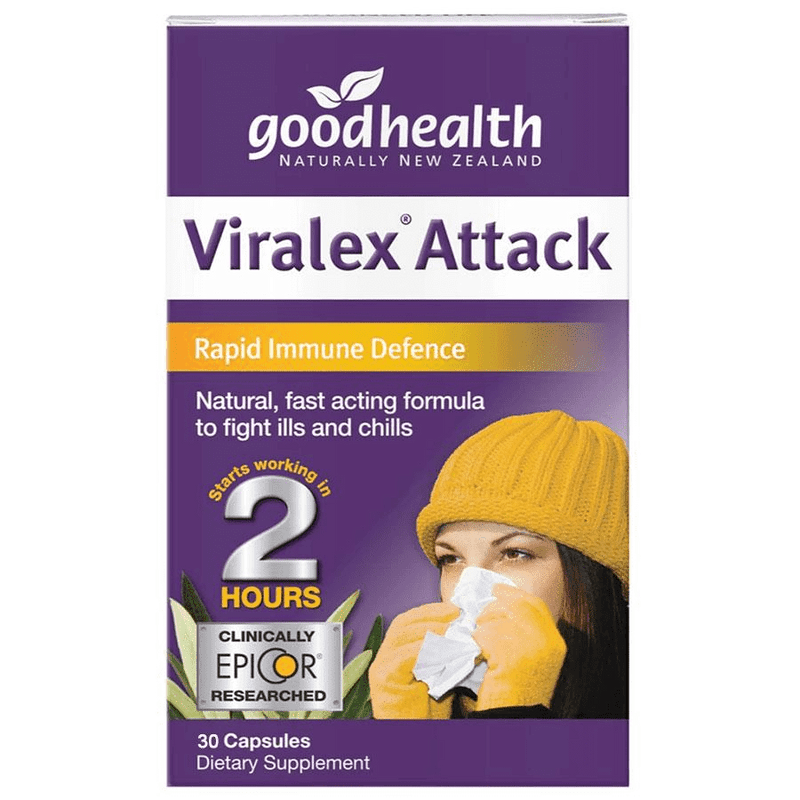 Good Health Viralex Attack 30 caps