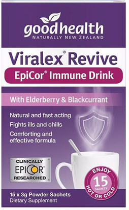 Good Health Viralex Revive EpiCor Immune Drink 15 sachets