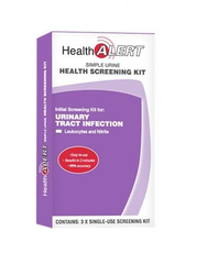 Health Alert UTI Kit 3 Tests