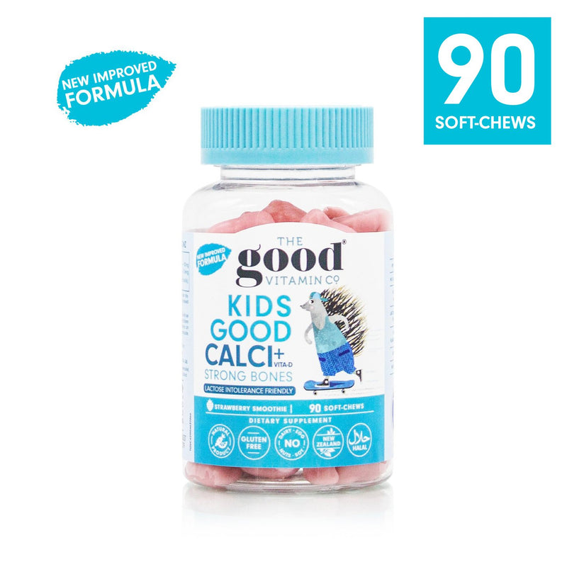 Good Vitamin Co Kids Calcium + Vitamin D 90s