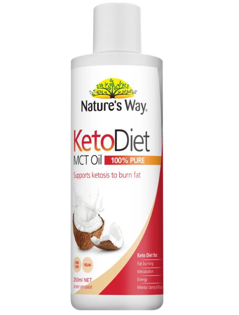 Natures Way Keto Diet MCT Oil 250ml