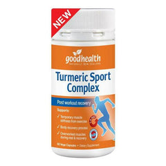 Good Health Turmeric Sport Complex 60 caps