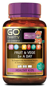 Go Healthy Kids Fruit & Vege 5+ 60 Chew