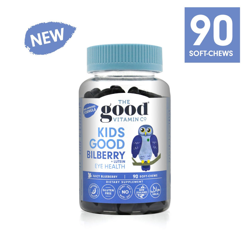 Good Vitamin Co Kids Good Bilberry + Lutein 90s
