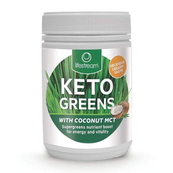 Lifestream Keto Greens With Coconut MCT 200g