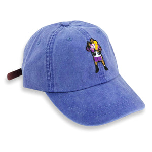 """Frobe"" Hat (dyed purple)"