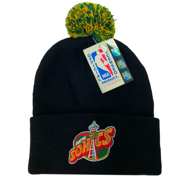 Vintage Seattle Supersonics Beanie - A.M. VINTAGE