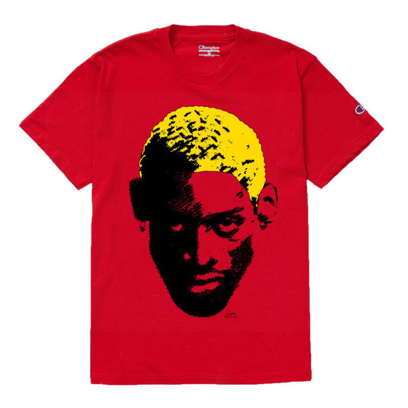 Dennis Rodman Champion T-Shirt (red)
