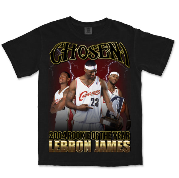 2004 ROTY LeBron James T-Shirt