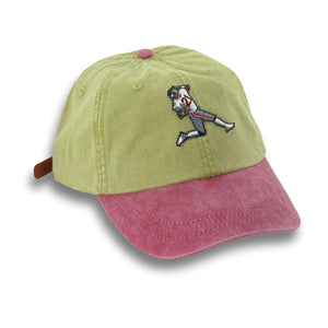 """Prime Time"" Hat (khaki/red) - A.M. VINTAGE"