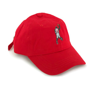 """His Airness"" Hat (red) - A.M. VINTAGE"