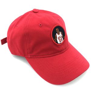 """The Shrug"" Hat (red) - A.M. VINTAGE"