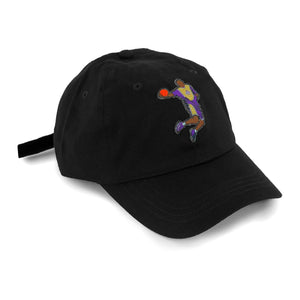 """KB8"" Hat (black) - A.M. VINTAGE"