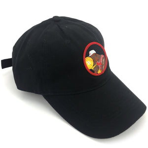 """Crying Jordan"" Hat (black) - A.M. VINTAGE"