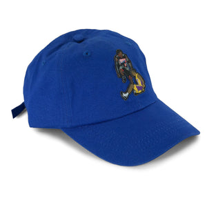 """The Stepover"" Hat (blue) - A.M. VINTAGE"
