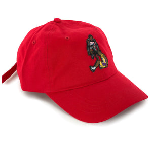"""The Stepover"" Hat (red) - A.M. VINTAGE"