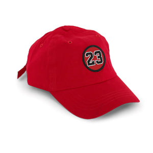 """Rookie Jordan"" Hat (red) - A.M. VINTAGE"