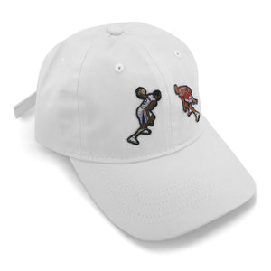 """The Crossover"" Hat (white) - A.M. VINTAGE"