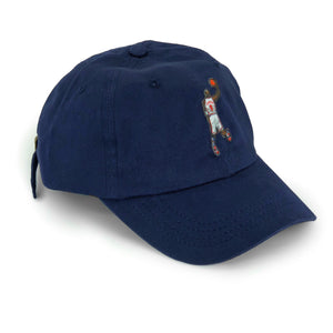 """His Airness"" Hat (navy) - A.M. VINTAGE"