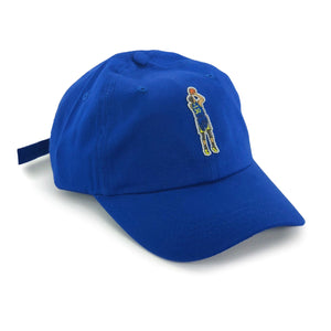 """Chef Curry"" Hat (blue) - A.M. VINTAGE"