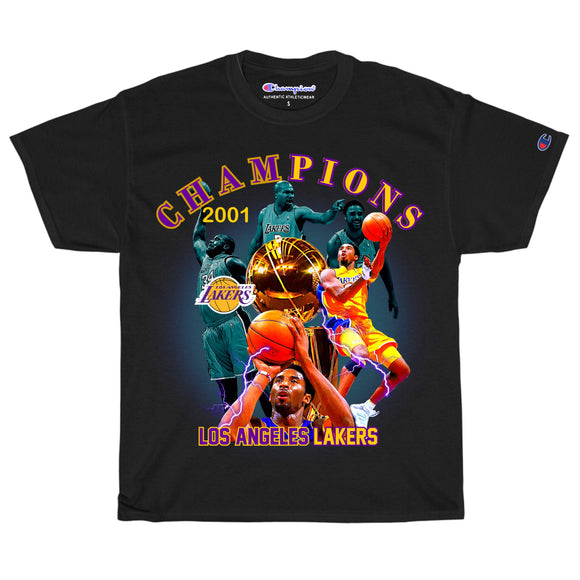 2001 Lakers Championship T-Shirt