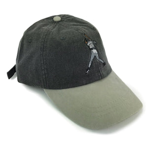 """Air Knows"" Hat (black/stone) - A.M. VINTAGE"