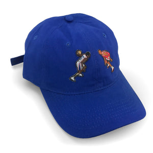 """The Crossover"" Hat (blue) - A.M. VINTAGE"