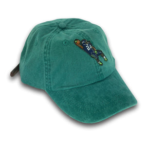 """Beast Mode"" Hat (dyed green) - A.M. VINTAGE"