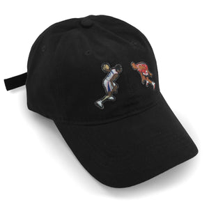 """The Crossover"" Hat (black) - A.M. VINTAGE"