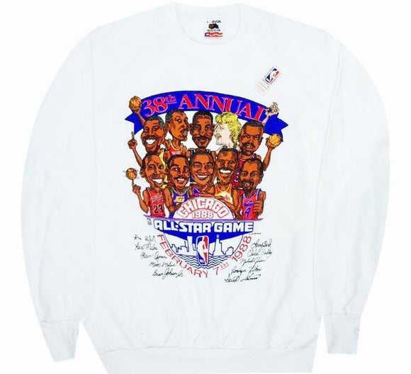 1988 All Star Game Sweatshirt - A.M. VINTAGE