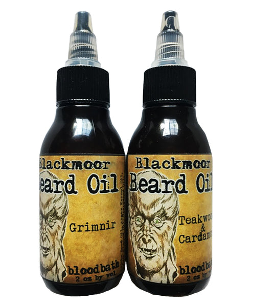 Horror Themed Beard Oil by Bloodbath