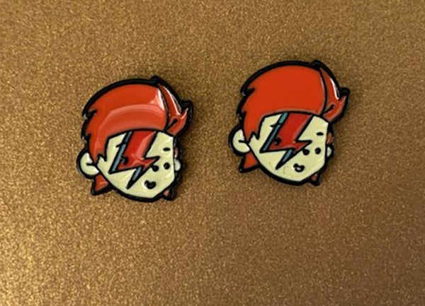 bowie earrings david bowie gift