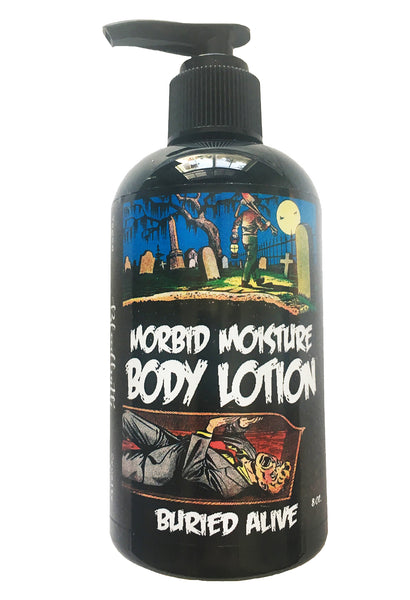"""Buried Alive"" Morbid Moisture Body Lotion"
