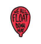 We All Float IT Movie Patch Pennywise
