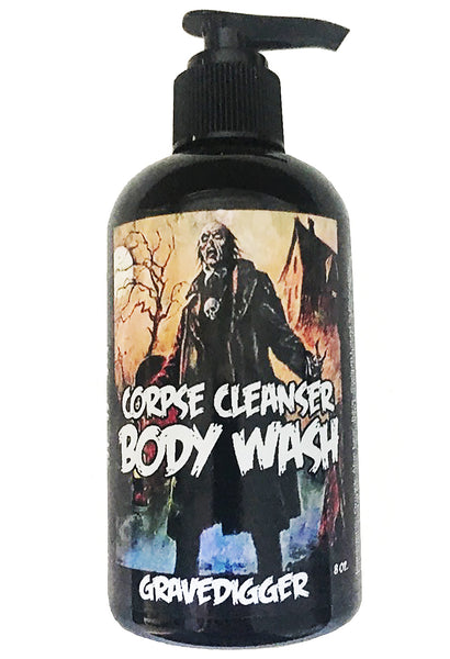 """Gravedigger"" Corpse Cleanser Moisturizing Sulfate-Free Body Wash Shower Gel"