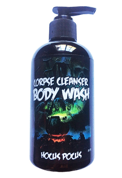 """Hocus Pocus"" Corpse Cleanser Moisturizing Sulfate-Free Body Wash Shower Gel"