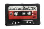 Horror Punk Cassette Woven Iron-On Patch