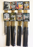 Horror Indie Gothic Charcoal Incense by Bloodbath