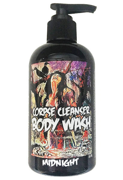 Midnight Body Wash Horror Bath and Body Indie Bath Bloodbath