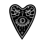 Ouija Planchette Embroidered Iron-On Patch