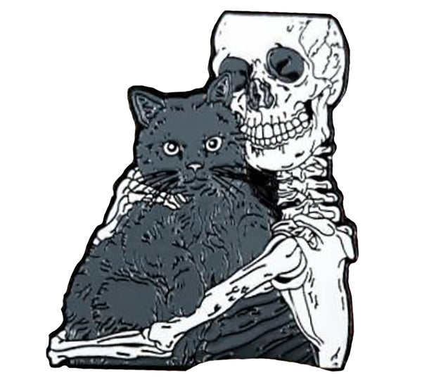 """Kitty Love"" Enamel Pin"