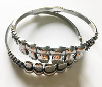 Teeth Bangle Bracelet