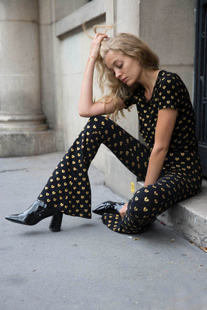 Breaking Hearts Flare Pants