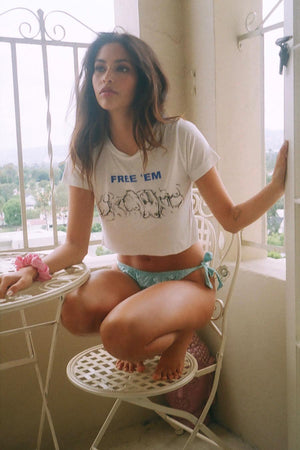 NEW!! CROPPED FREE EM' TEE