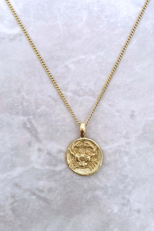 Cancer Zodiac Pendant