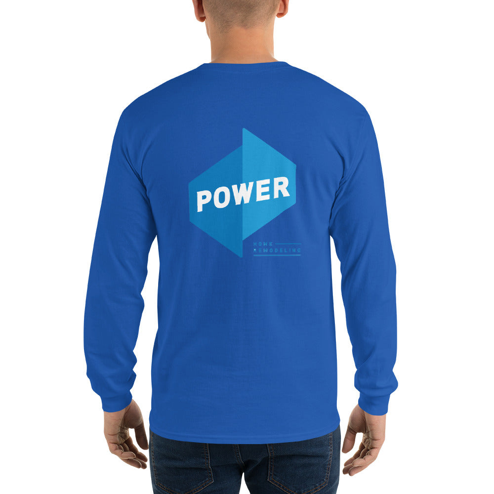 Long Sleeve Power T-Shirt front/back
